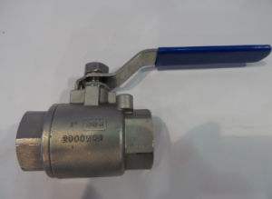 SUS304 2000wog 2-Piece Ball Valve (Q11F-DN25-2000PSI) pictures & photos