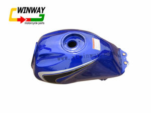 Ww-9313 Gn125 Motorcycle Mix Color Steel Oil Tank pictures & photos