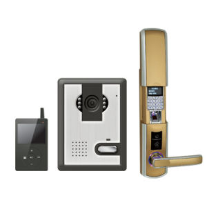 Remote Controlled Wireless Door Lock