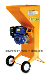 6.5HP Gasoline High Speed Steel Wood Machine Chipper Shredder