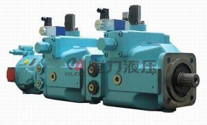 Combination A4V+A10V Hydraulic Axial Pistom Pump