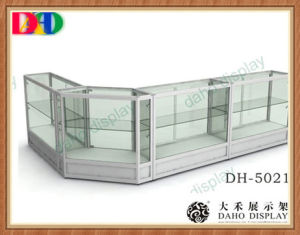 Glass Counter Display Cabinet For Showing Cosmetic, Jewelry, Cell Phone