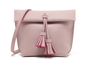 Retro Tassel Pendant PU Leather Flip Lady Shuolder Bag (LDO-01650) pictures & photos