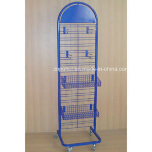 China Point Of Sales Grid Wall Panel Elegant Shape Rolling Wire