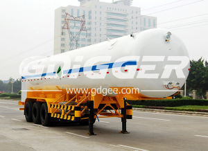 26cbm Cryogenic Liquid Transportation Semi Trailer Road Tanker