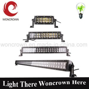 Double Row LED Light Bar Flood + Spot Beam with Security Hardware Kit Offroad 4X4 Truck, Stainless Steel