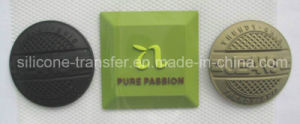 Washable Heat Transfer Silicone Labels for Garment/Apparel