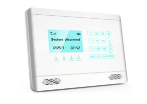 GSM Alarm Home Security System with LCD display and Touchkeypad (YL-007M2BX) pictures & photos