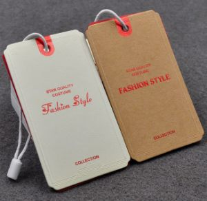 Fashion Garment Paper Hangtags