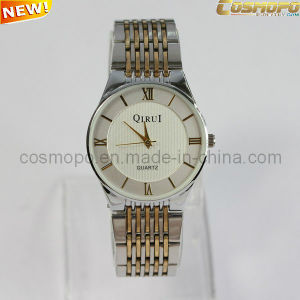 Mixed Color Band Stainless Steel Watch for Men (SA0824)