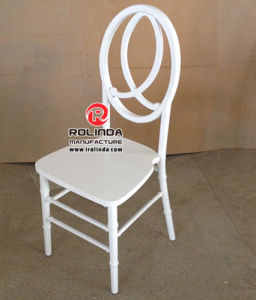 New Design White Wooden Phoenix Chair for Sale pictures & photos