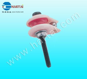 Caged Ceramic Wire Guide Pulley Wire Jump Preventer
