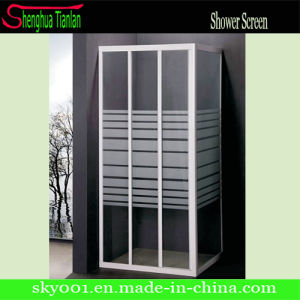 3 Panel Sliding Shower Tempered/ Toughen Glasses pictures & photos