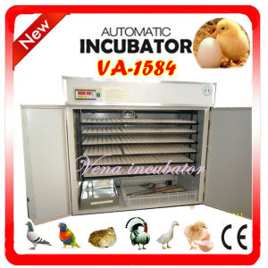 CE Approved Fully Automatic Commercial Chicken Egg Incubator pictures & photos
