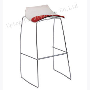 Modern Metal Frame Plastic Seat Bar Stool (SP-UBC236-1) pictures & photos