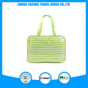 Stripe Printed PVC Material Waterproof Tote Bag pictures & photos