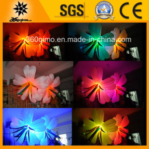 Hot Sale Inflatable Color Changing Air Flowers