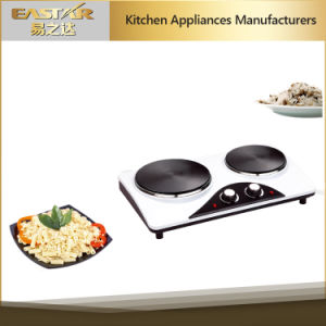 Double Burner Electric Hotplate Es-3206 Electric Hob