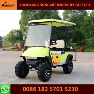 4 Passenger Electric Hunting Golf Cart (The rear seats can be fold up)