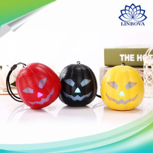 Pumpkin Lantern Bluetooth Portable Professional Speaker with LED