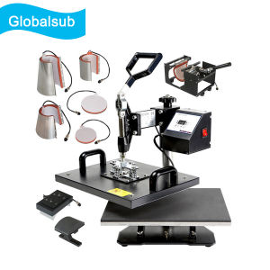 Combo 8 in 1 Heat Press Machine for Sublimation Printing
