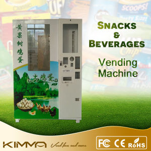 Boxed Lunch and Ramen Vending Machine with Robot Arm pictures & photos