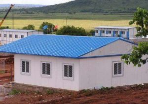 Pre Engineered Steel Building for Dormitory, Site Office, Labor Camping pictures & photos