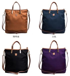 High Quality Waterproof Nylon Handbag Big Size Fashion Design Tote Shoulder Bag Sy8454 pictures & photos