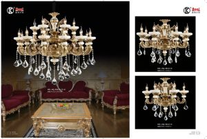 Jade Anti-Brass Luxury Crystal Chandelier Light pictures & photos