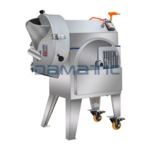 Root Vegetable Cutting Machine/Potato Carrot Onion Cucumber Cutting Slicing Dicing Machine