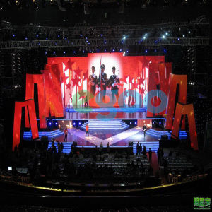 HD Indoor Rental LED Display for Stage Performance P3.91