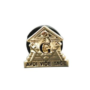 High Quality Innovative Design Custom Masonic Lapel Pin