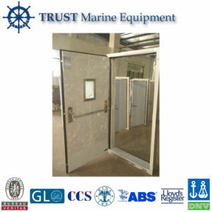 Marine Stainless Steel Single Leaf Gastight Fire Proof Door pictures & photos