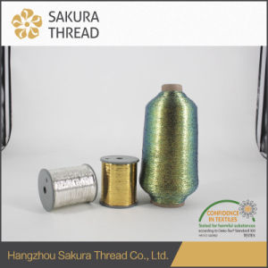 Multicolor Metallic Embroidery Thread for Fabric with High Class pictures & photos