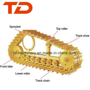 Crawler Undercarriage Parts for Excavator Sprocket or Track Roller or Carry Roller PC300-5. PC300-6/7/8. PC360. PC400-5.