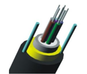 6core Fiber Optic Loose Tube Cable II for Communication Field pictures & photos
