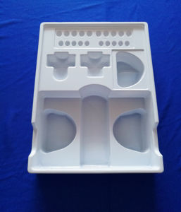 White PVC Blister Tray for Health Care Products Set Blister Tray Set for Health Care Products pictures & photos