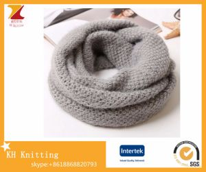 Winter Wool Plush Thickening Knitting Scarf