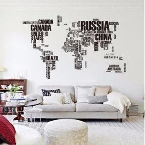 China Hot Pvc Wall Stickers Letter