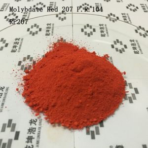 Plastic and Rubber Used Molybdate Red 207