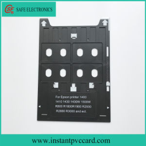 Inkjet PVC ID Card Tray for Epson R2000 Inkjet Printer pictures & photos