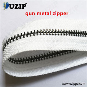 Zipper for Sale / Gunmetal Zipper / Continuous Metalic Zipper / Long Metal Zipper