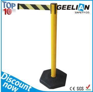 Retractable Crowd Control Queue Traffic Barrier