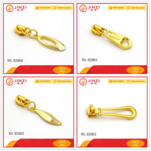 Hot Sale Bag Zipper Sliders, Regular Quality Metal Zipper Pullers pictures & photos