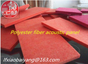 Decoration Acoustic Material Fiber Polyester Wall Panel Acoustic Panel Ceiling Panel pictures & photos