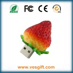 Straberry USB PVC Shape Cute Flash Memory pictures & photos
