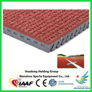 Professional Manufacturer Prefabricated Synthetic Rubber Running Track pictures & photos