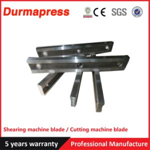 Solid SKD11 Straight Shear Blades for CNC Cutting Machine
