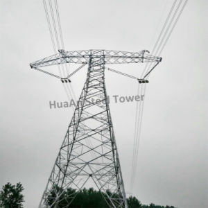 Electric Power Transmission Galvanized Suspension Angle Steel Tower