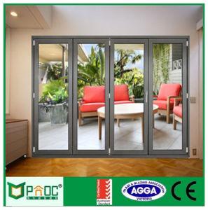China Champagne Color Aluminium Folding Door, Glass Door, Aluminium ...